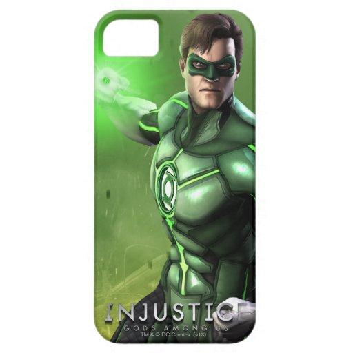 Linterna verde iPhone 5 Case-Mate cárcasa
