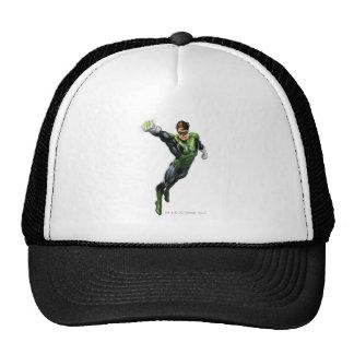 Linterna verde - rendida completamente, brazo haci gorra