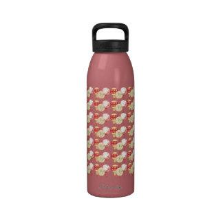 Linternas asiáticas botellas de beber