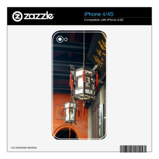 Linternas chinas calcomanía para iPhone 4S