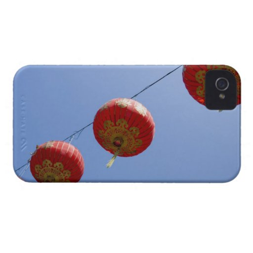 Linternas chinas funda para iPhone 4