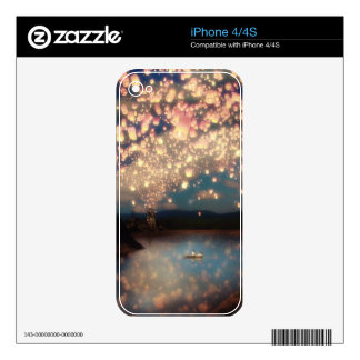 Linternas del deseo del amor iPhone 4S skin