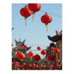Linternas en Chinatown Postal