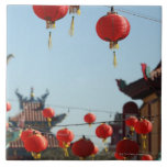 Linternas en Chinatown Tejas Cerámicas