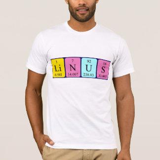 Linus periodic table name shirt