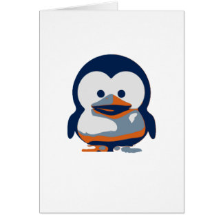 Linux Baby Tux II Card