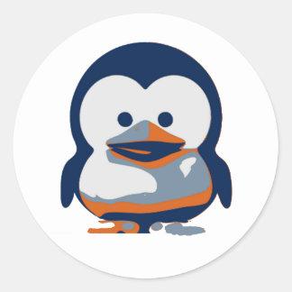 Linux Baby Tux II Classic Round Sticker
