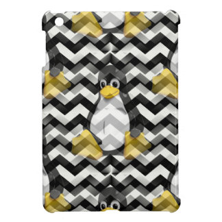 LINUX Black Chevron Cover For The iPad Mini