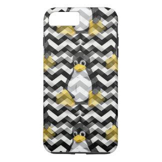 LINUX Black Chevron iPhone 7 Plus Case
