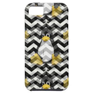 LINUX Black Chevron iPhone SE/5/5s Case