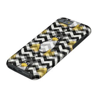 LINUX Black Chevron Tough iPhone 6 Case