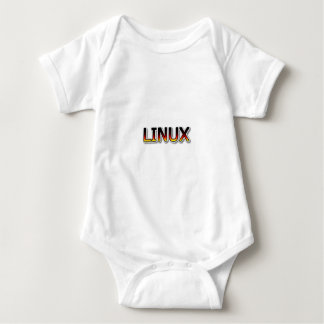 LINUX Cartoon Baby Bodysuit