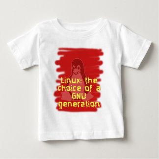 Linux: Choice of a GNU Generation Tee Shirt
