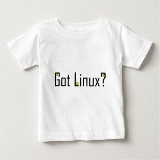¿Linux conseguido? - Texto negro Playera