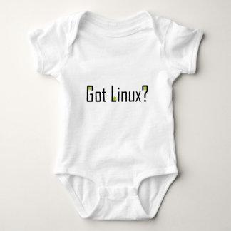 ¿Linux conseguido? - Texto negro Poleras