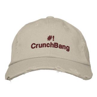 Linux - #!CrunchBang Embroidered Baseball Cap
