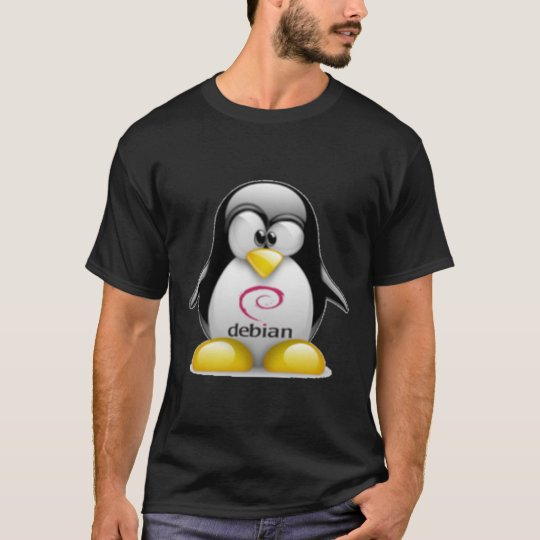 Linux Debian Tux T-Shirt