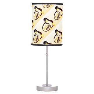 LINUX DENTRO de Tux las lámparas del pingüino de Lámpara De Mesa