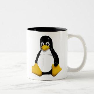 Linux /dev/mug taza de dos tonos
