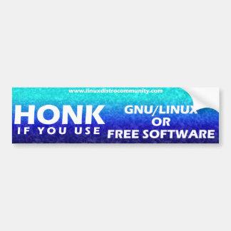 Linux Distro Community Bumper Sticker Bumper Sticker