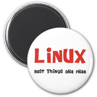 Linux Geek and more Products & Designs! 2 Inch Round Magnet