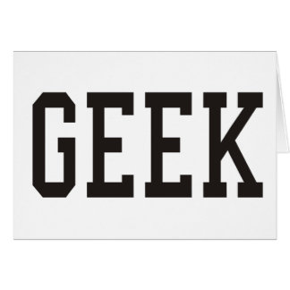 Linux Geek and more Products Designs Card