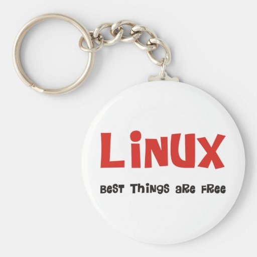 Linux Geek and more Products & Designs! Keychain