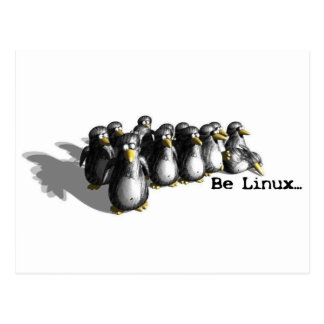 Linux Group Postcard