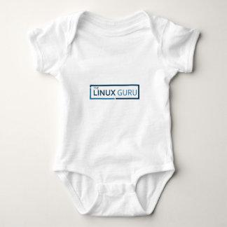 "linux guru ""t"" baby bodysuit"