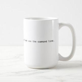 """Linux """"hombres reales utiliza la línea de comando"""""""