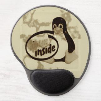 LINUX INSIDE Tux the Linux Penguin Gel Mouse Pad