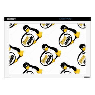 """LINUX INSIDE Tux the Linux Penguin Logo 17"""" Laptop Decals"""