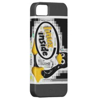 LINUX INSIDE Tux the Linux Penguin Logo iPhone SE/5/5s Case