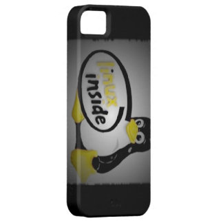LINUX INSIDE Tux the Linux Penguin Logo iPhone SE/5/5s Case