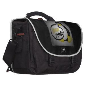 LINUX INSIDE Tux the Linux Penguin Logo Commuter Bags
