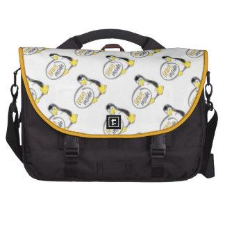 LINUX INSIDE Tux the Linux Penguin Logo Laptop Bags
