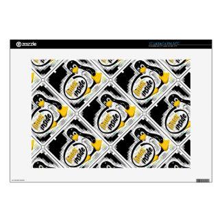 "LINUX INSIDE Tux the Linux Penguin Logo Skin For 15"" Laptop"