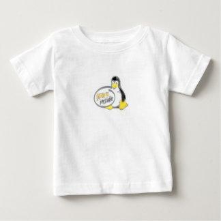 LINUX INSIDE Tux the Linux Penguin Logo T-shirt