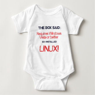 Linux is better t-shirt