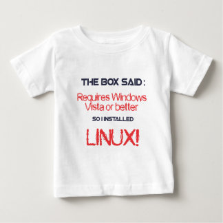 Linux is better t shirts