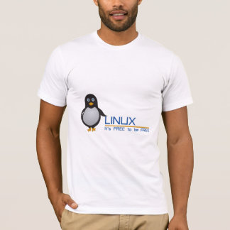 Linux, it's free to be free T-Shirt