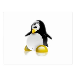 Linux Jump Postcard