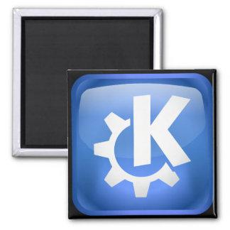 Linux KDE 2 Inch Square Magnet