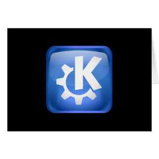 Linux KDE Card