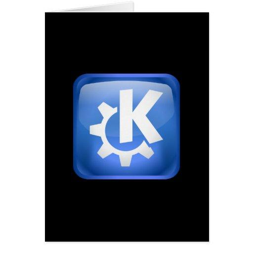Linux KDE Greeting Card