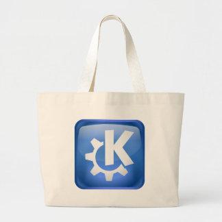 Linux KDE Large Tote Bag
