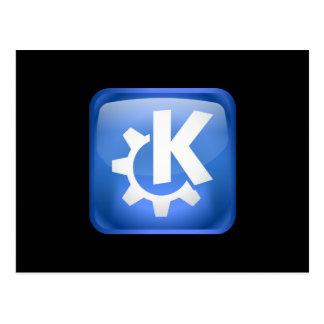 Linux KDE Postcard