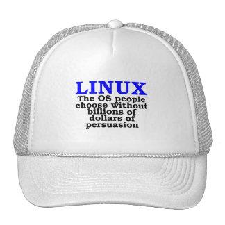 Linux La gente del OS elige… Gorra