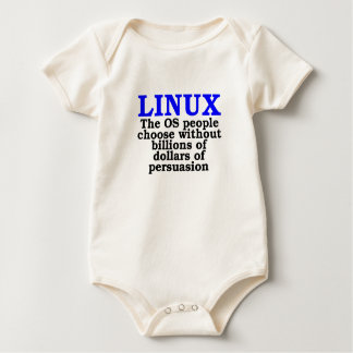 Linux. La gente del OS elige… Traje De Bebé