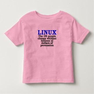 Linux. La gente del OS elige… Playera De Niño